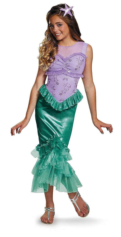 Amazon.com: Ariel Tween Disney Princess The Little Mermaid Costume ...