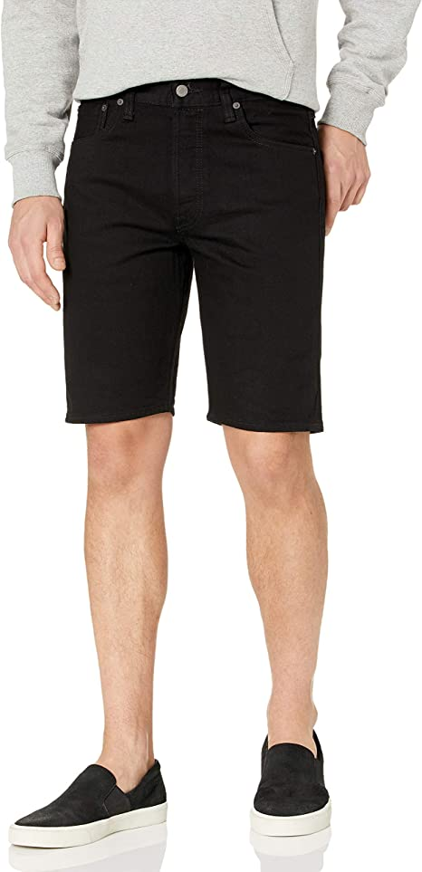 black levi shorts mens