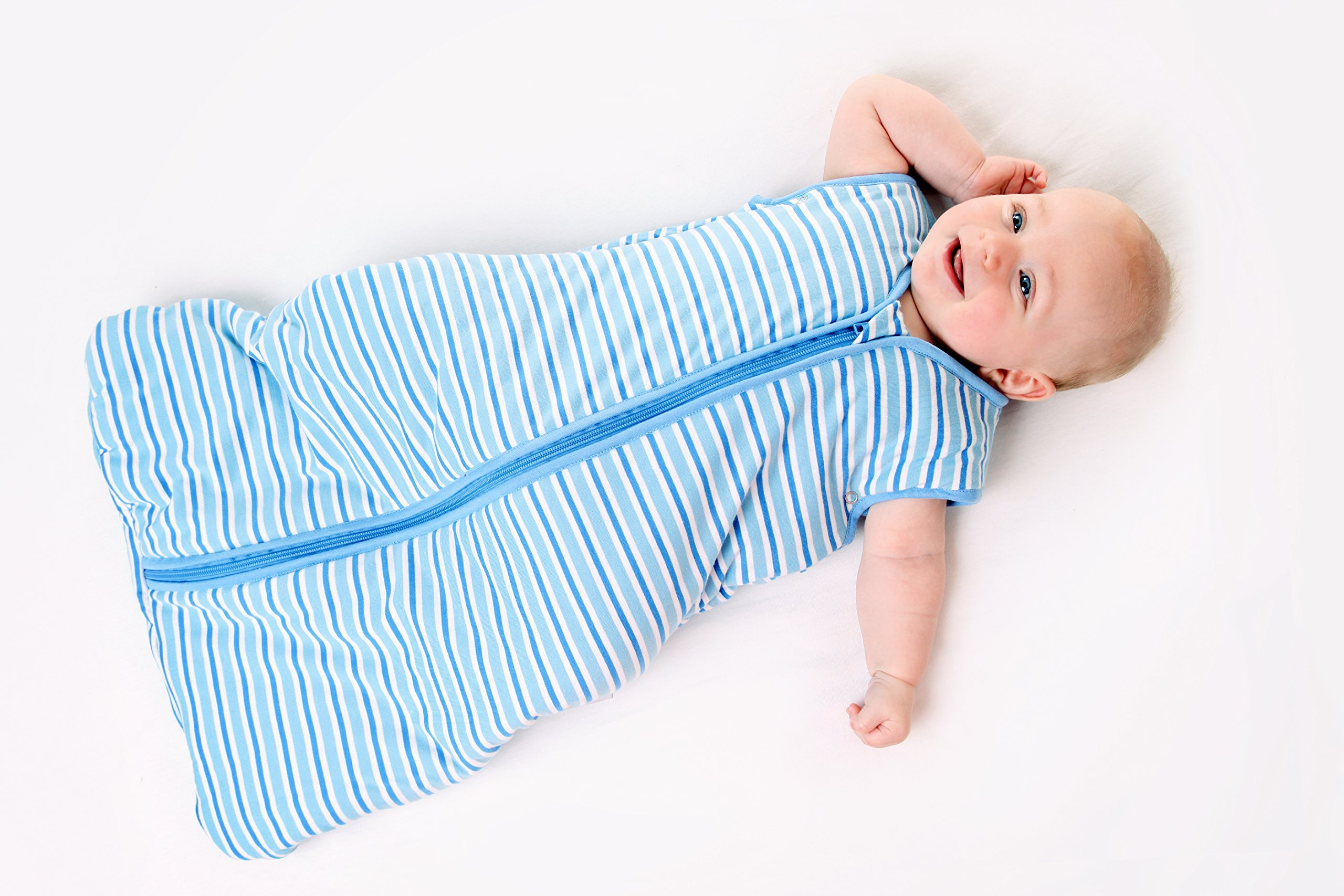 Slumbersac Baby Sleeping Bag 2.5 Tog Simply Blue Elephants 0-6 Months