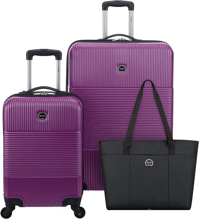 Amazon.com: Delsey - Juego de equipaje de 3 piezas (maleta a ...