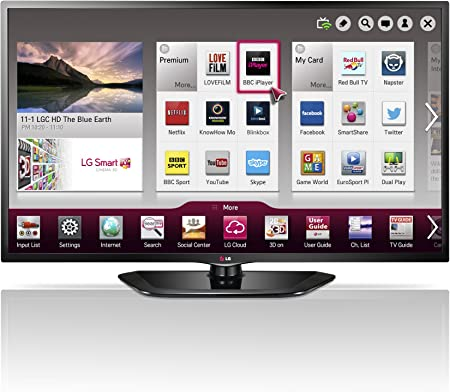 LG 42LN570V 42-inch Widescreen 1080p Full HD Smart LED TV with Freeview HD: Amazon.es: Electrónica