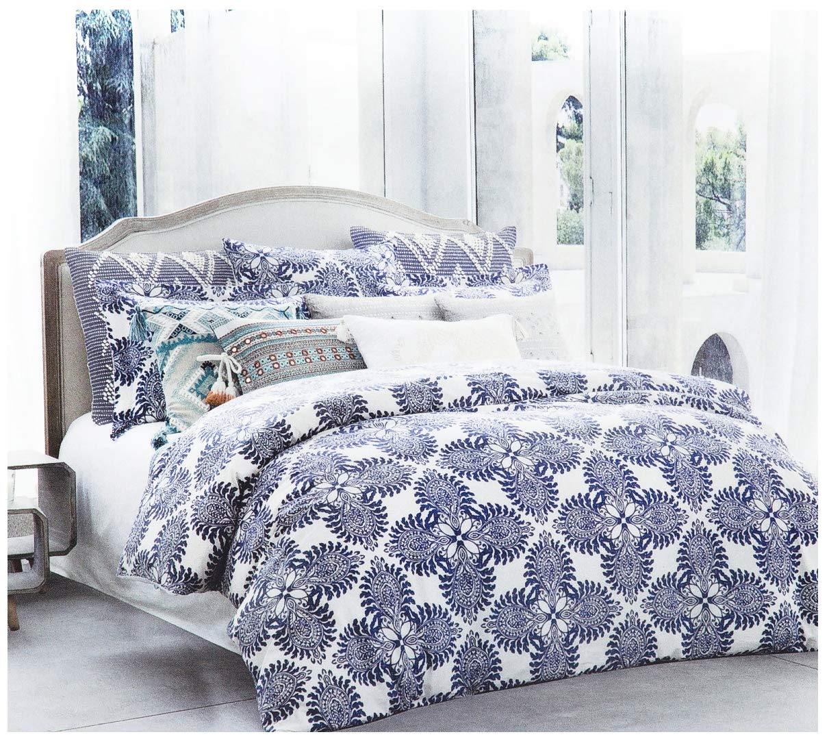 Quilt Covers Reversible Bedding Sets All Sizes Scroll Luxury Duvet