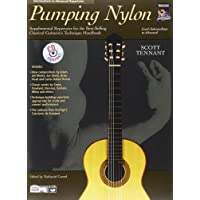 Pumping Nylon - Intermediate to Advanced Repertoire: Supplemental Repertoire for the Best-Selling Classical Guitarist's Technique Handbook, Book & CD