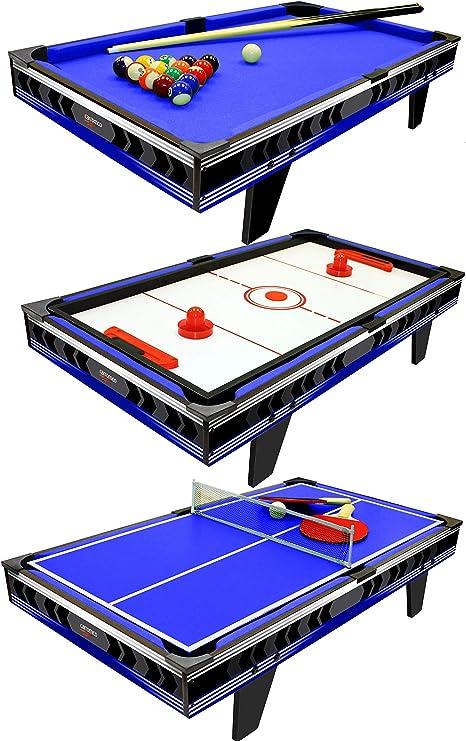 Carromco Galaxy XT Mesa multijuego 3 en 1: Amazon.es: Juguetes y juegos
