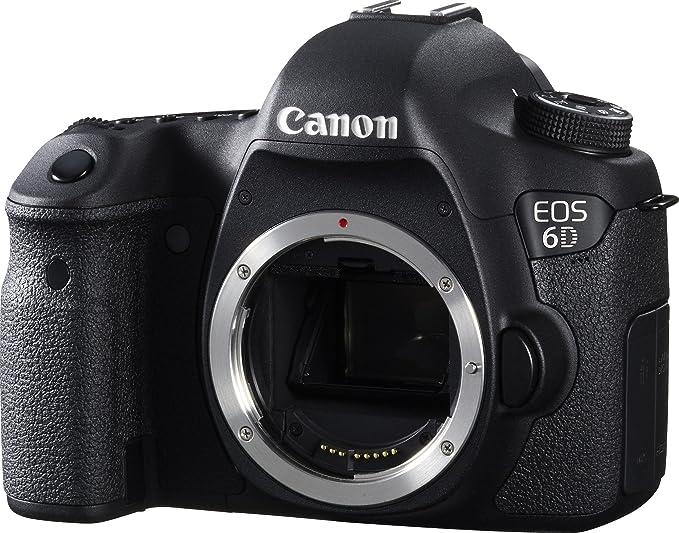 2 opinioni per Canon EOS 6D SLR Camera Body 20.2MP CMOS 5472 x 3648pixels Black- Digital