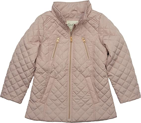 Jessica Simpson girls Quilted Barn Jacket
