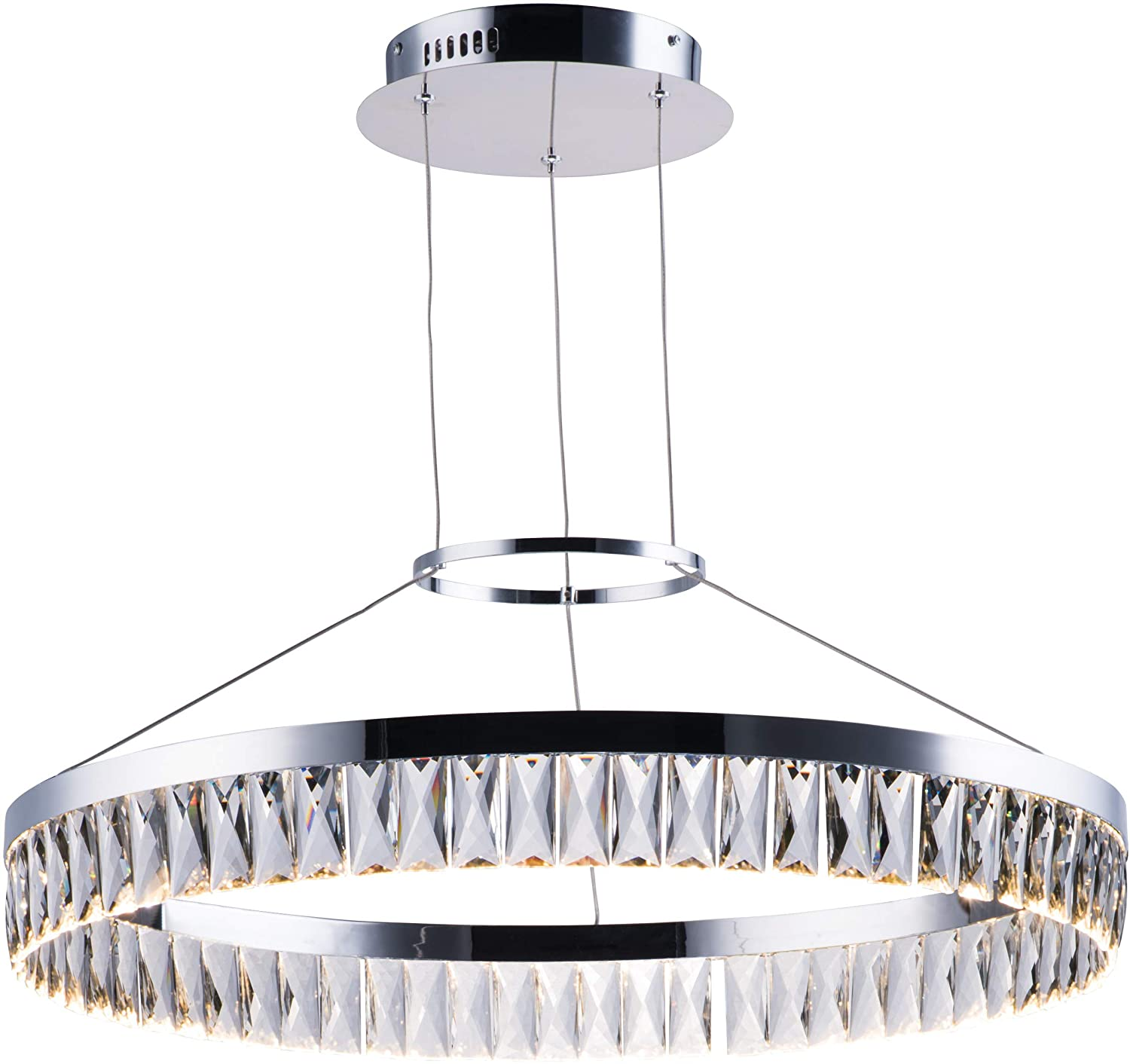 Amazon.com: Maxim Lighting 38375BCPC - Lámpara de techo con ...