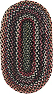 """product image for Capel Rugs Plymouth Collection 300 Black 11' 4"""" x 14' 4"""" Oval"""