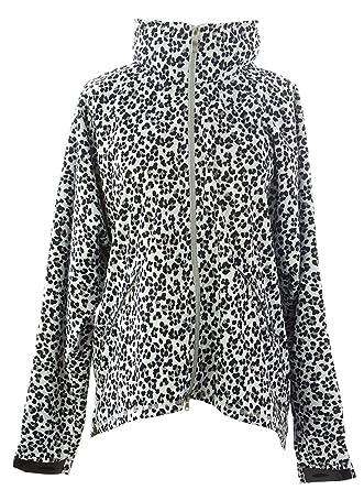 Jofit Lluvia Chaqueta de Piel de Guepardo, Cheetah Print