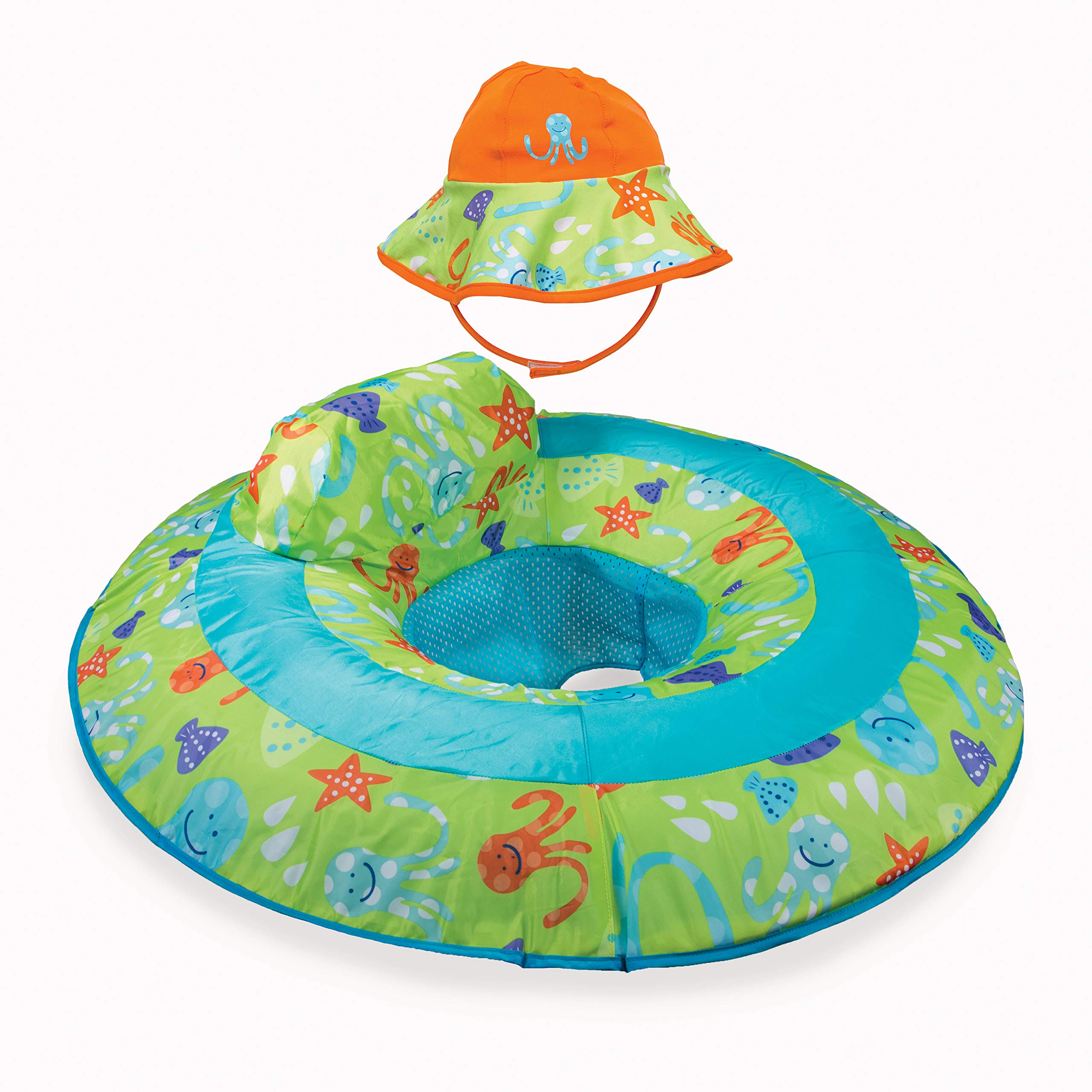 SwimWays Spring Float Graphic Prints Blue by JK