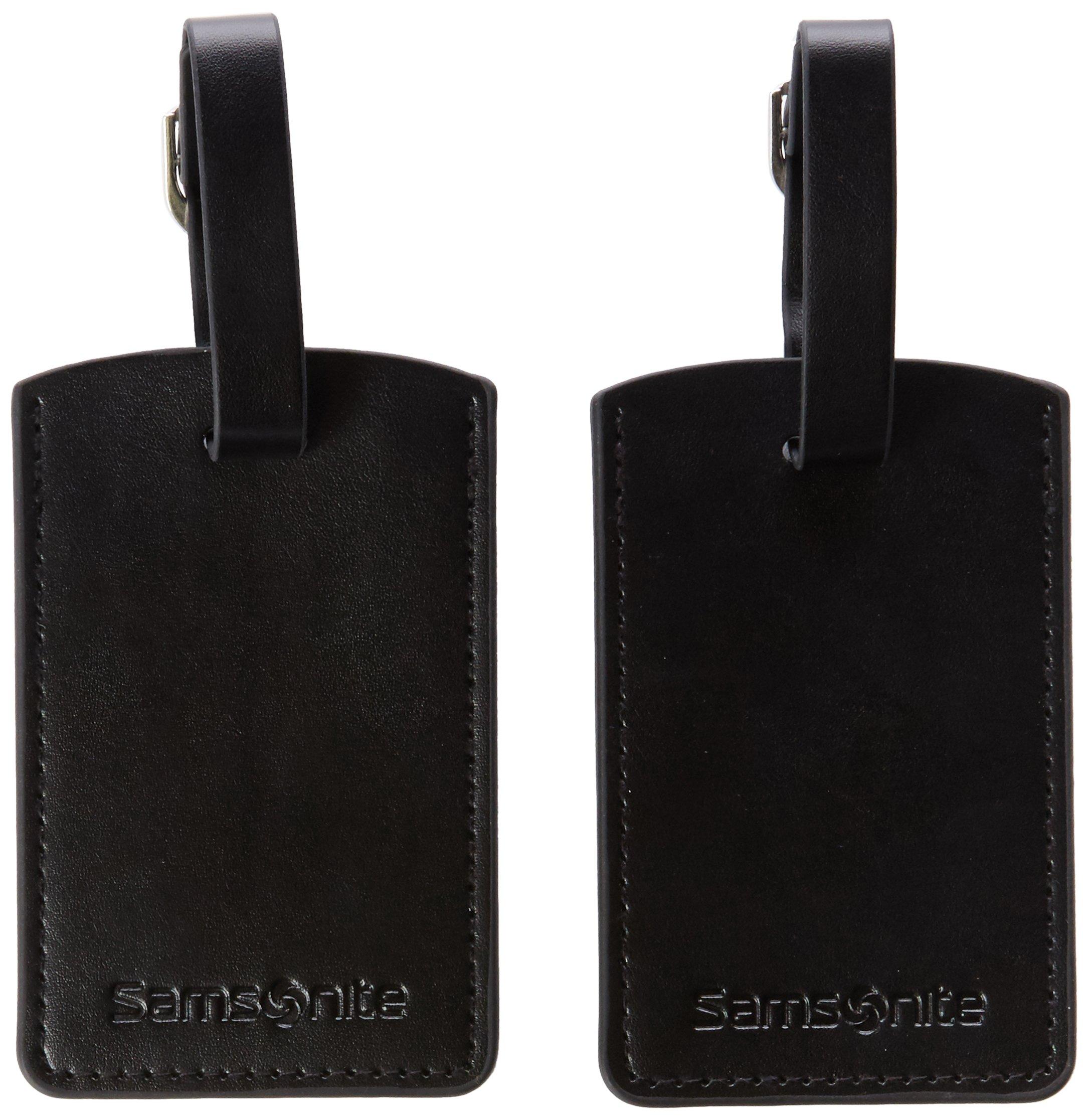 Samsonite Travel Accessoire Etiquette pour Bagage, 23 cm, Noir 52972 1041  product image c629e1b9d6d