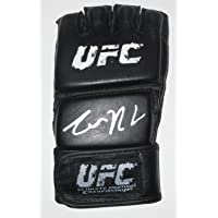 $299 » Conor McGregor Autographed UFC Training Distress Fight Glove W/PROOF, Picture of Conor Signing For Us, Ultimate Fighting…