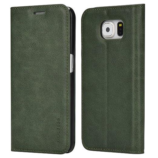 4 opinioni per Custodia Samsung Galaxy S6, Cover Samsung Galaxy S6, Mulbess [Portafoglio
