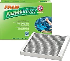 FRAM CF10370 Fresh Breeze Cabin Air Filter with Arm & Hammer