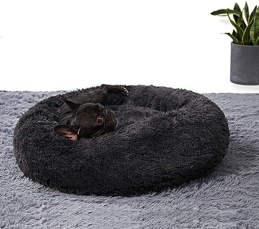 ANWA Washable Dog Round Bed Medium