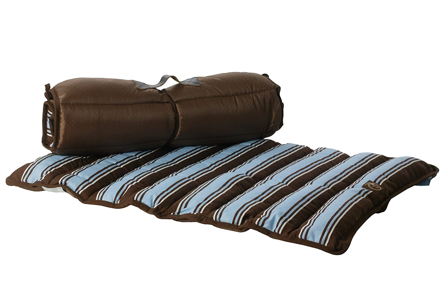 One for Pets 1802-bluee-S Roll-Up Travel Bed, Small, bluee