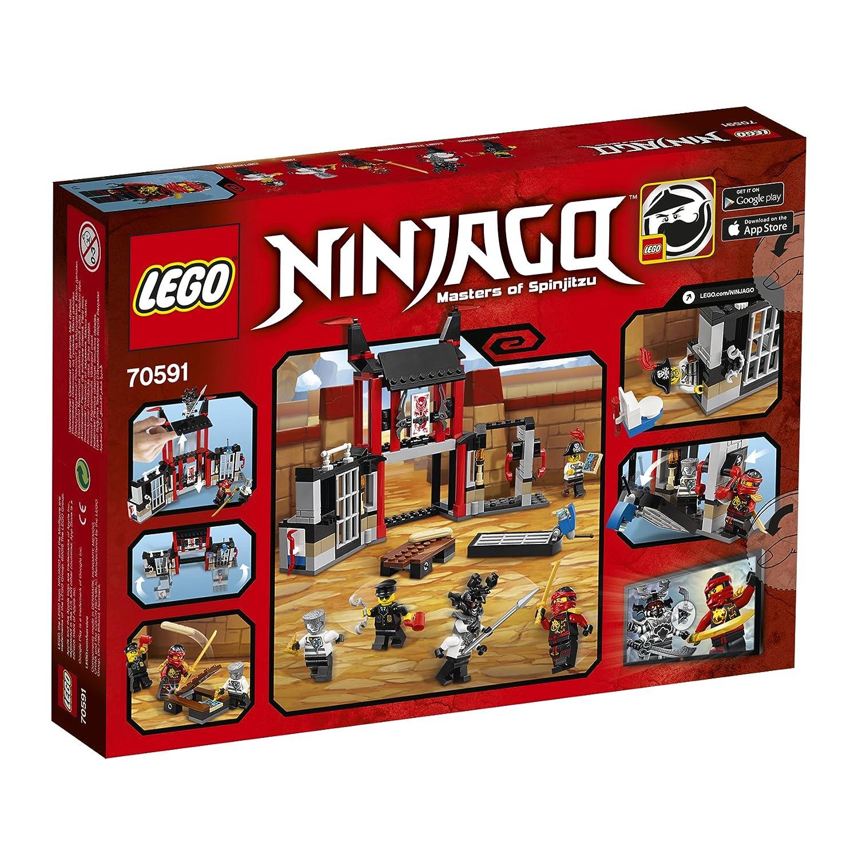Lego Ninjago - Huida de la prisión Kryptarium (6144774)