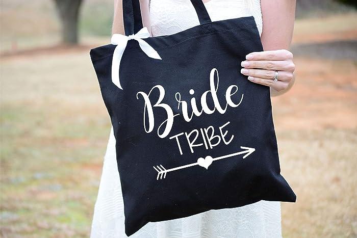 Amazon Com Bride Tribe Tote Bridemaid Gift Bride Tribe