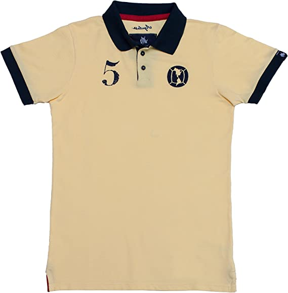 Coolligan - Polo de Fútbol Retro 1916 Águilas - Color - Beige ...