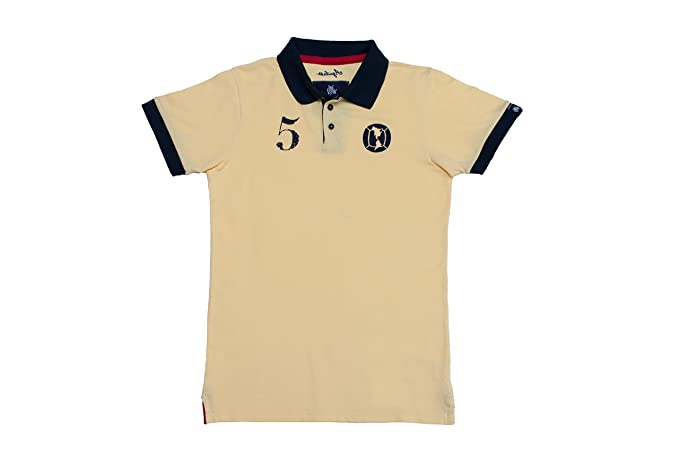 Coolligan - Polo de Fútbol Retro 1916 Águilas - Color - Beige - Talla - XXL