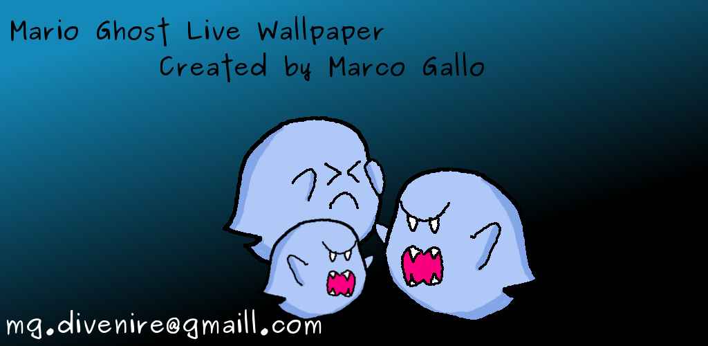 Amazon Mario Ghost Live Wallpaper Appstore For Android