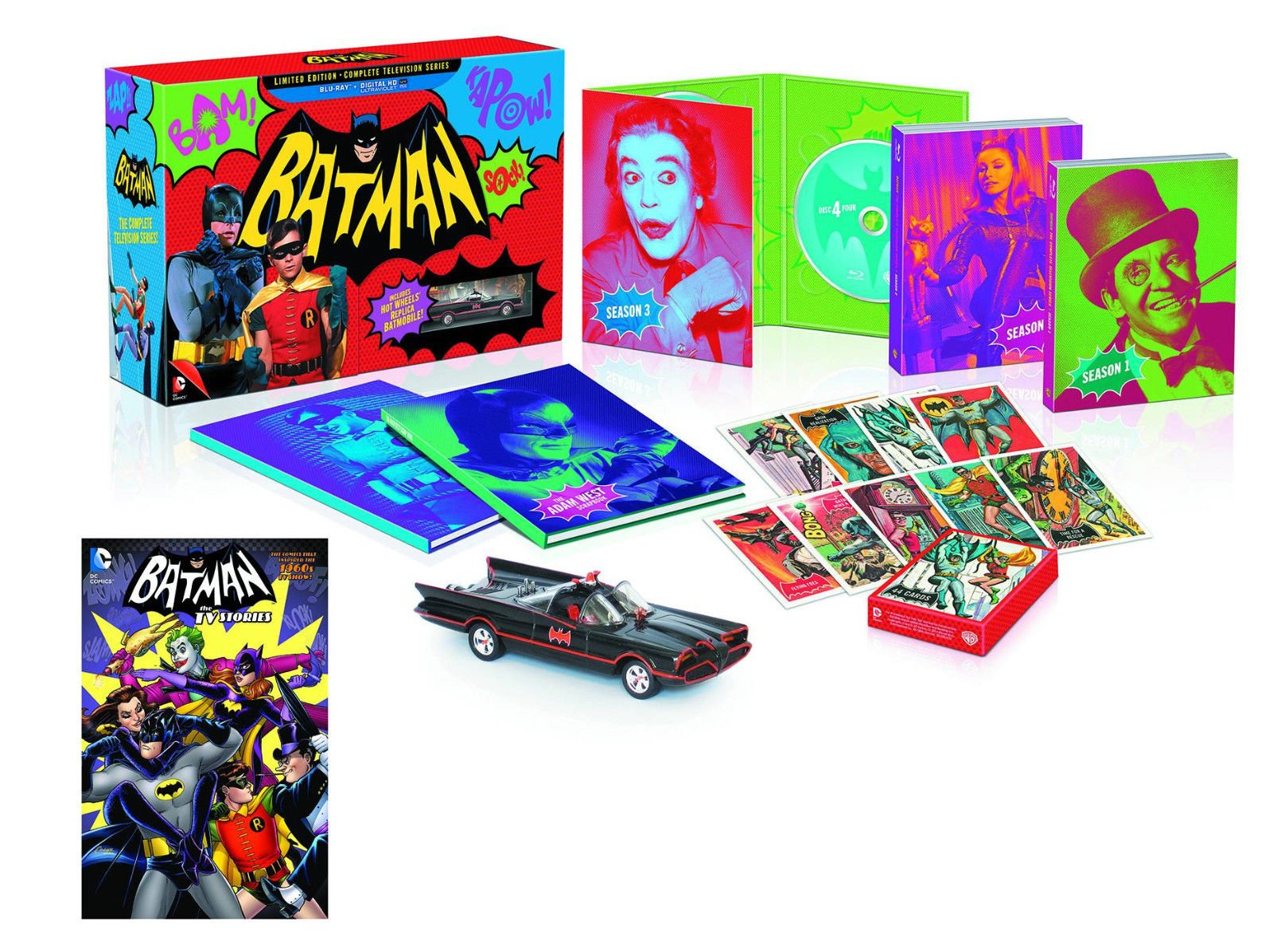 Batman Complete TV Series Previews Exclusive Limited Edition Blu-ray & Book Set