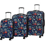 "it luggage Virtuoso Hardside 3 Piece ""Print"" Luggage Set"