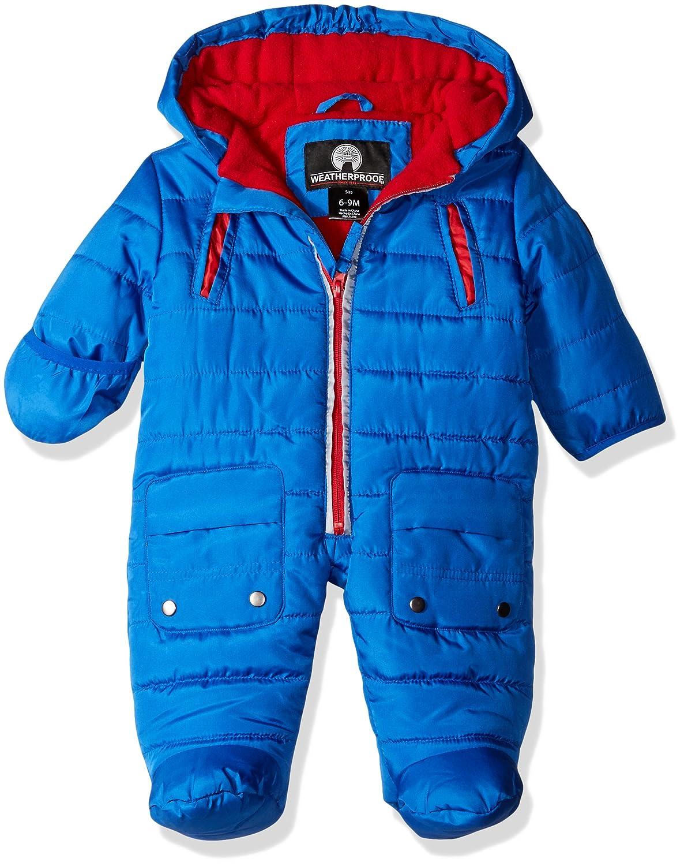 Weatherproof Baby Boys' Pram (More Styles Available), Black/Black B, 3/6 Months ONW281AM