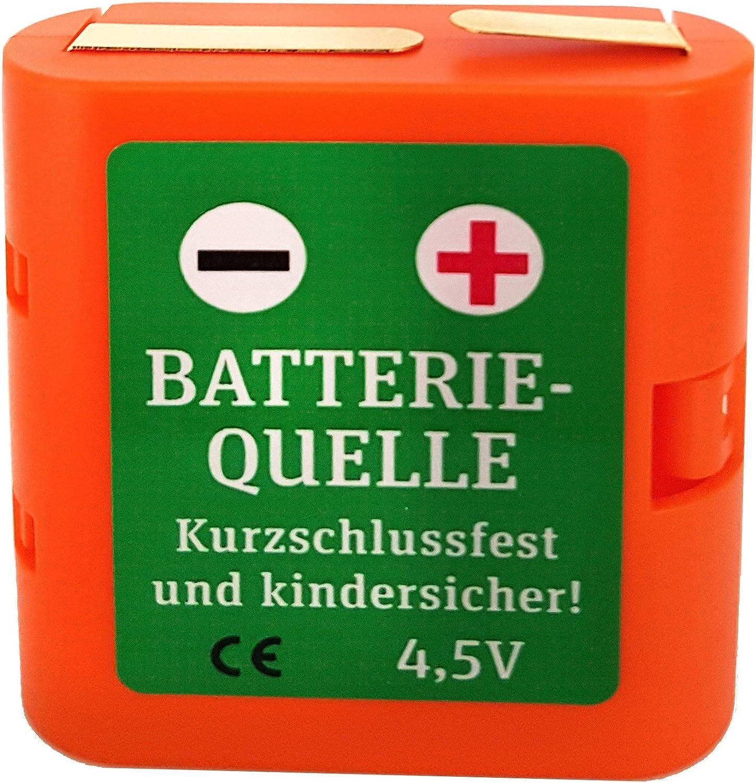 3 x Mignon Batteriehalter 4,5V Flachbatterie