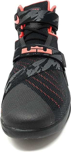 Nike Zapatillas Abotinadas Lebron Soldier IX PRM NegroRojo