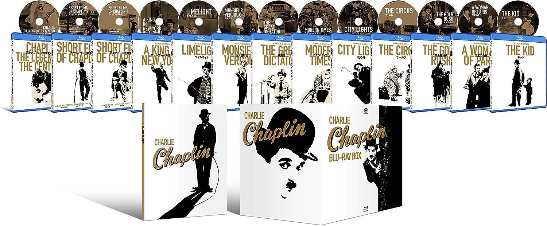 Charlie Chaplin Blu-ray Box set by Kadokawa, Japan