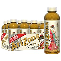 Arizona, 12-Count, 16-Ounce (Zero Green Tea)