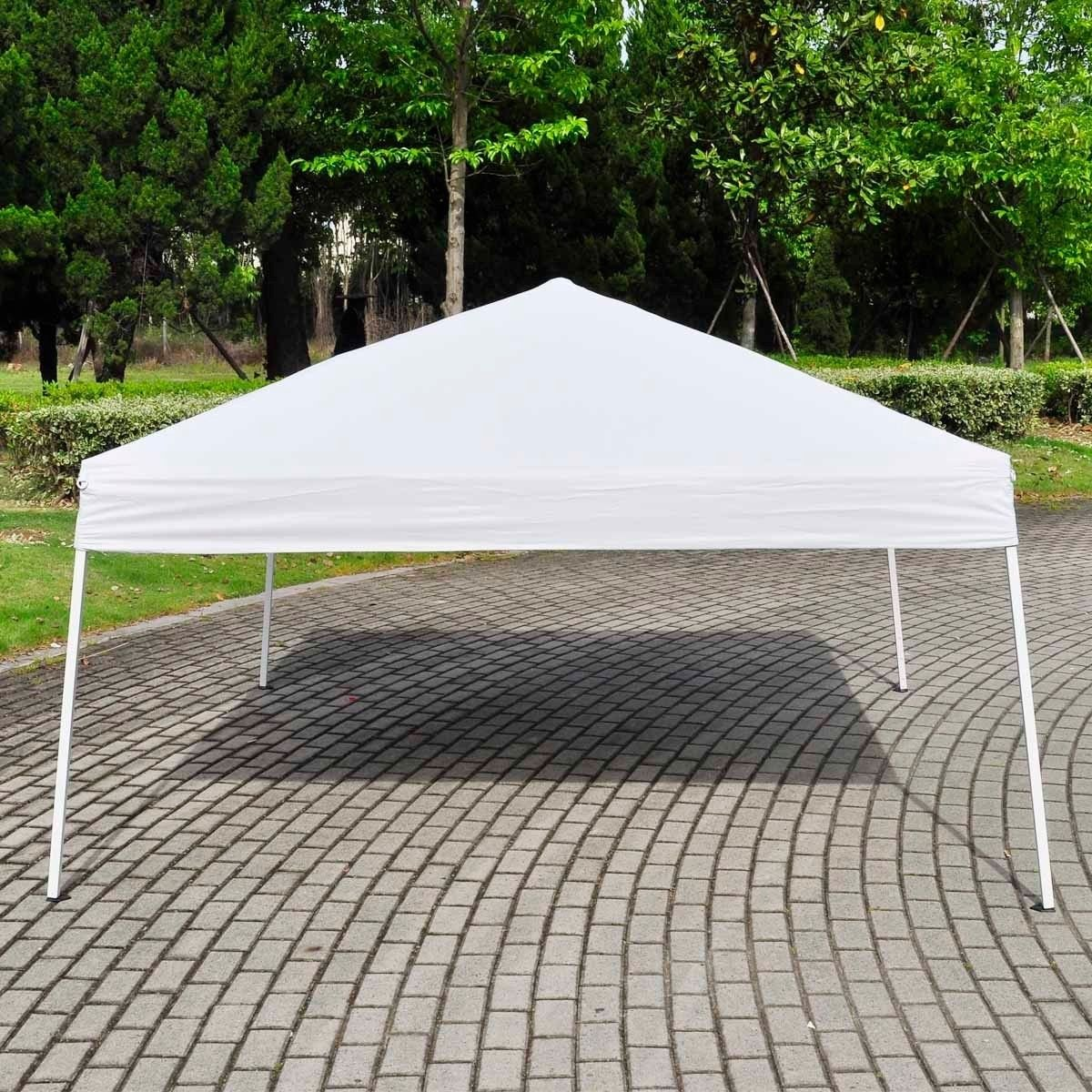 Amazon.com  STRONG CAMEL EZ POP UP Wedding Party Tent 10u0027x10u0027 Folding Gazebo Beach Canopy W/Carry Bag-WHITE  Sports Fan Canopies  Garden u0026 Outdoor & Amazon.com : STRONG CAMEL EZ POP UP Wedding Party Tent 10u0027x10 ...