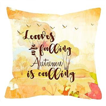 Amazonniditw nice gift fall harvestgolden autumn greetings niditw nice gift fall harvestgolden autumn greetingsfalling autumn is calling lumbar negle Images
