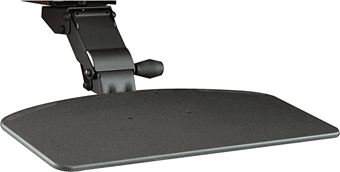 Bush Business Furniture Articulating Keyboard Tray with Galaxy Finish