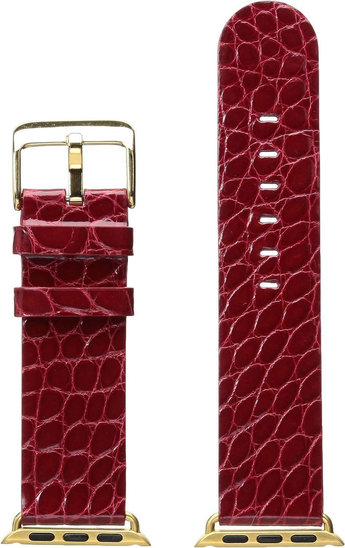 Hadley Roma Apple Strap Alligator Gls Leather Alligator