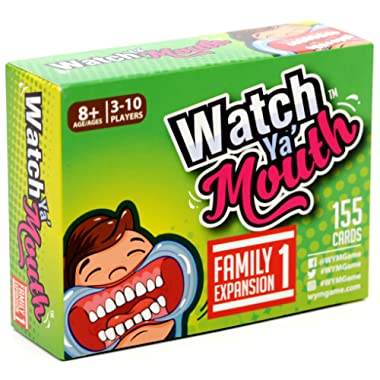 Watch Ya Mouth Family Expansion #1 Card Game Pack, for All Mouth Guard Games