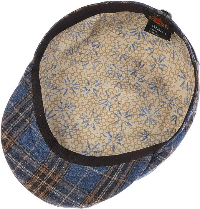 Made in The EU Mayser Frankie Linen Flat Cap Men