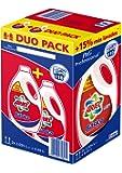 Detergente Ariel Basico Líquido 110d, Caja con 2 botellas