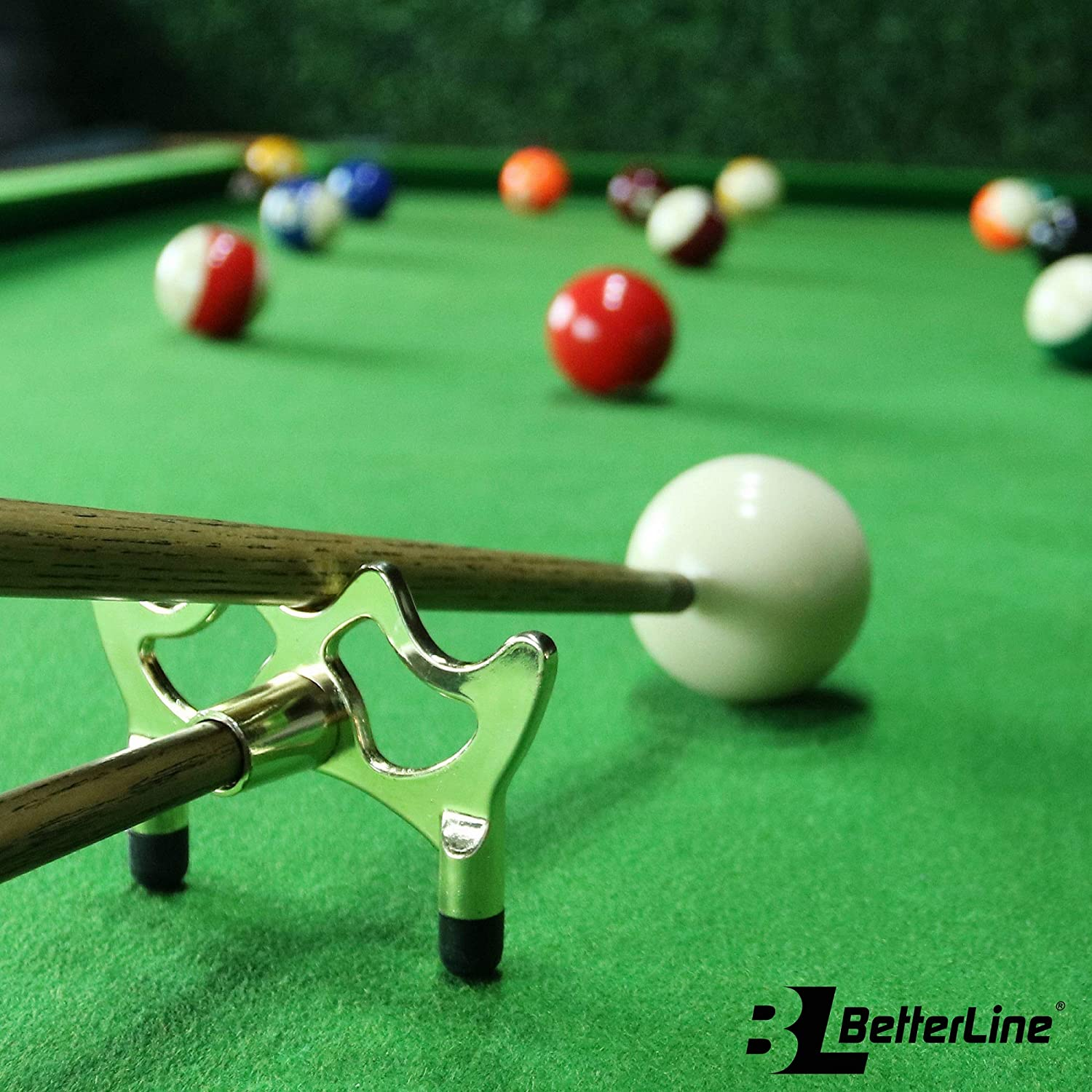 BETTERLINE Billar Cue Puente Spider Cabeza y Cue Cross X Rest, 5 ...
