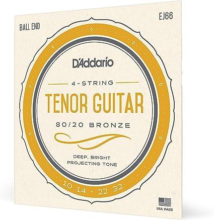 D Addario cuerdas de guitarra Tenor ej66: Amazon.es: Instrumentos ...