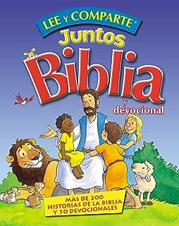 Lee y comparte juntos Biblia y Devocional: Más de 200 historias bíblicas y 50 devocionales