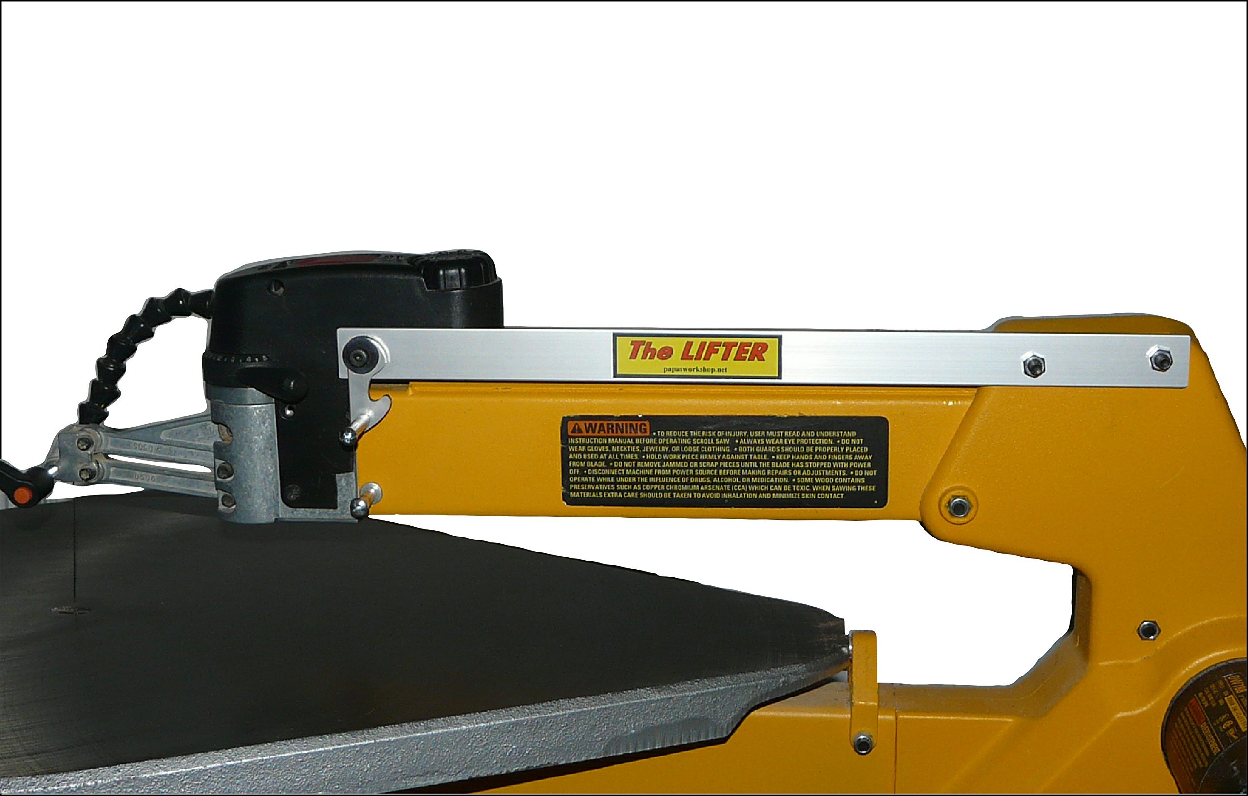 Papa's Workshop The Scroll Saw Lifter - for the Dewalt 788 and Delta 40-690 Scroll Saws by Papa's Workshop