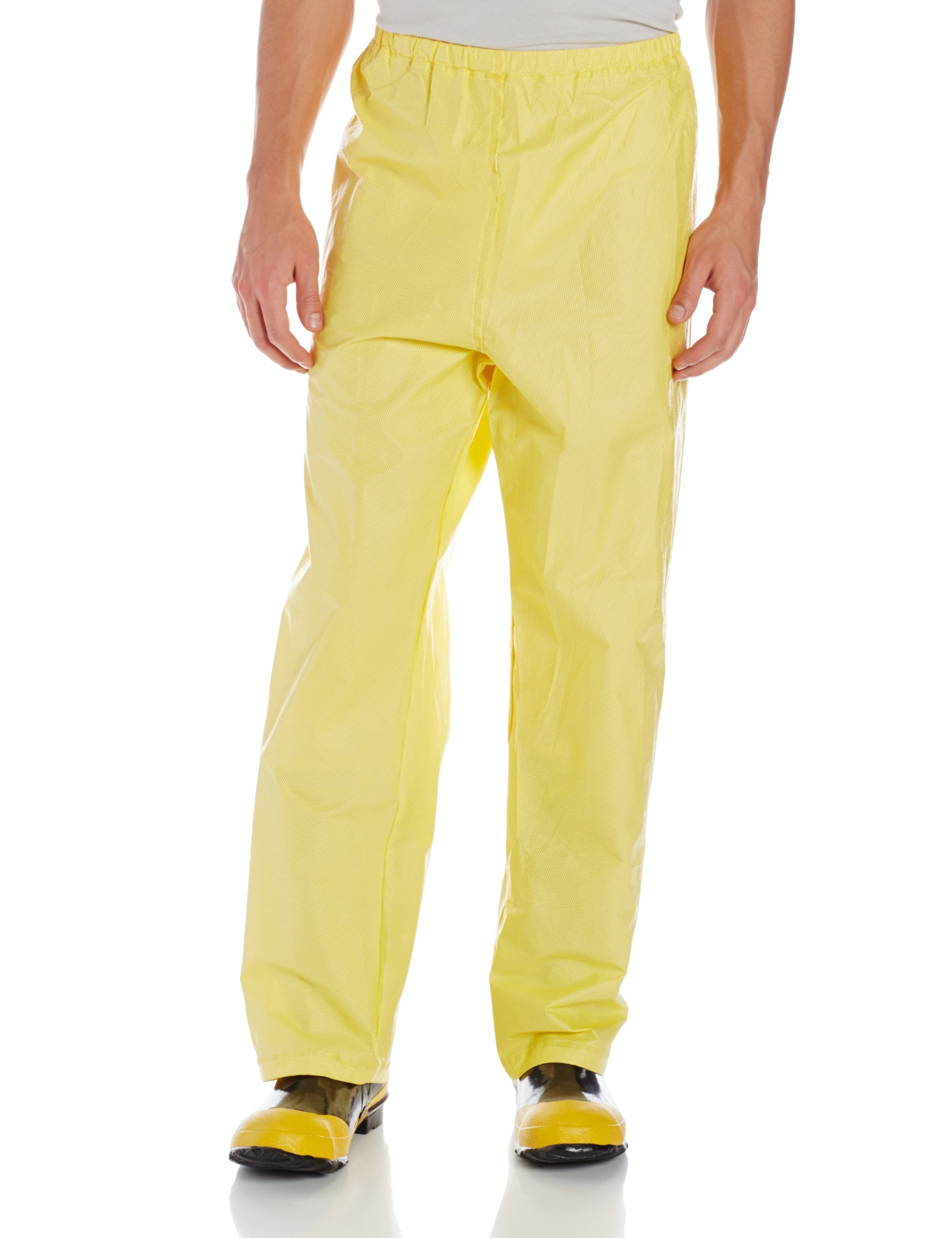 O2 Rainwear Original Rain Pants, Yellow, Small