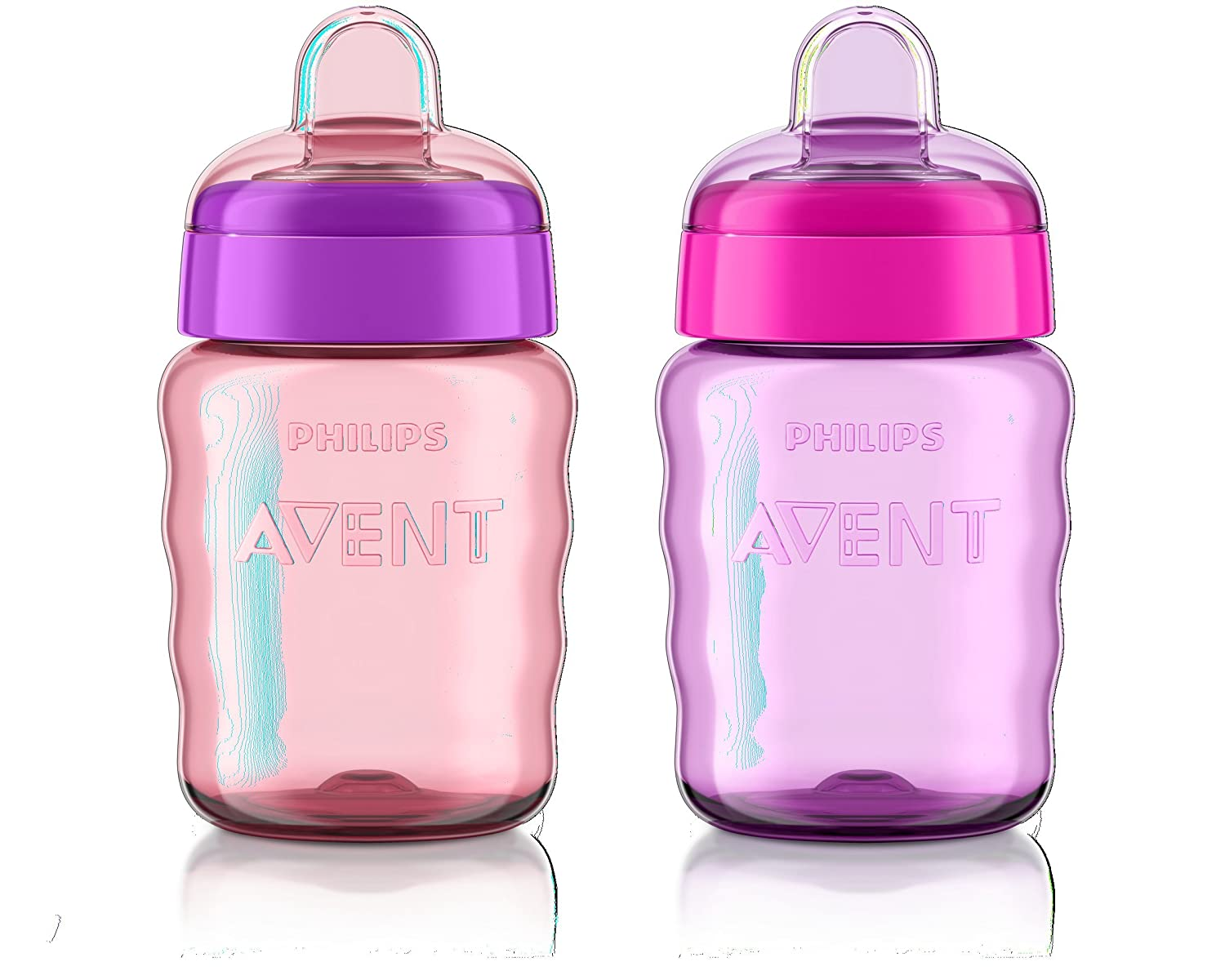 Philips Avent My Easy Sippy Cup 9oz, Mixed, 2pk, SCF553/22