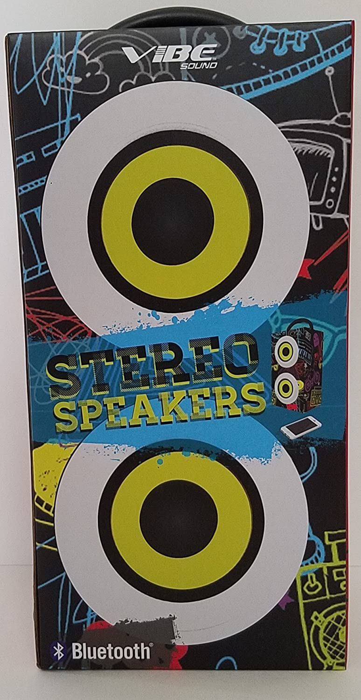 Vibe sound Stereo Speakers Bluetooth: Home Audio  - Amazon.com
