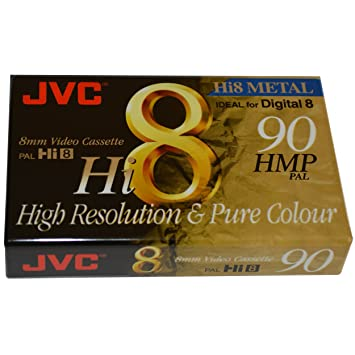JVC 8mm Video Cassette Tape For Sony Digital 8 Camcorder