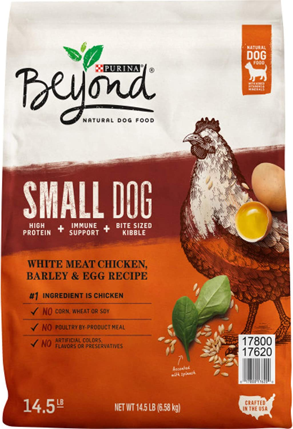 Purina Beyond Natural Adult Dry Dog Food - Superfoods Blend Formula & Small Breed Formula