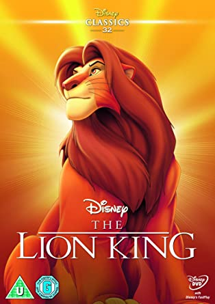 The Lion King 1994 Limited Edition Artwork Sleeve Dvd Amazon Co Uk Dvd Blu Ray