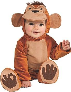 Rubies Pelele Mono Funky - Disfraz para niños de 1 a 2 años ...